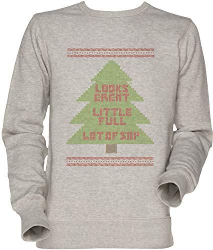 Vendax Weihnachten Urlaub Hässlich Sweatshirt Unisex Sweatshirt Grau