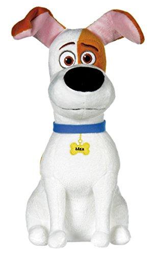 mascotas-the-secret-life-of-pets-max-perro-blanco-con-manchas-marrones-29cm-calidad-super-soft