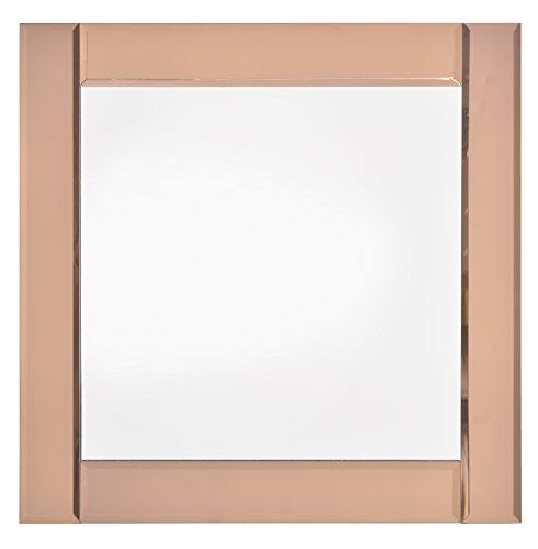 6c994914d32 Innova Editions - Specchio Decorativo da Parete con Pannelli in Oro Rosa