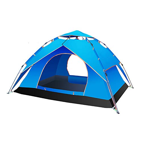 Tenda da Campeggio 3-4 Persone Instant Pop Up Automatic Holiday Easy Set Up Tenda per Outdoor Hiking Double Layer