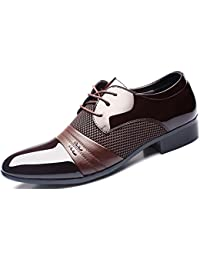 DADAWEN Homme Automne Classique Commercial Leather Chaussure