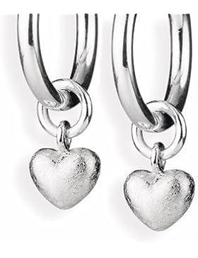 hearzbreaker Einhänger für Creolen Herz Silber LD MR 32