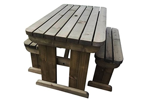 Set pic nic richiudibile in valigetta tavolo sgabelli sedie