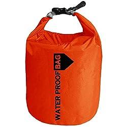 Rosepoem Bolsa Estanca Impermeable Bolsa para Material 10L / 20L Bolsa Seca para Kayak, Playa, Rafting, Canotaje, Senderismo, Camping y Pesca
