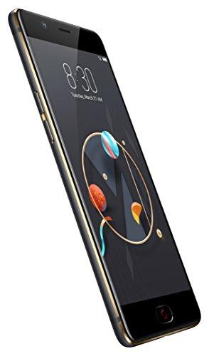 Nubia nx551j M2Smartphone (64GB Memoria, 4GB de RAM, cámara de 13MP, Android 6.0, 13,9cm (5,5pulgadas)), color negro/oro