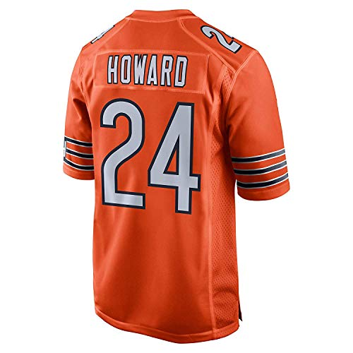 JEMWY Herren/Damen/Jugend_Jordan_Howard_#24_Orange_Sportbekleidung_Ausbildung_Wettbewerb_Jersey