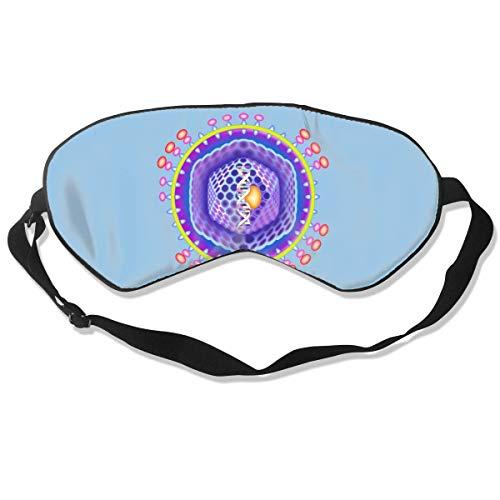 Masken, Masken für Erwachsene,Face Mask Reusable, Fashion Sleep Mask Microorganism Eye Cover Blackout Eye Masks,Breathable Blindfold Soft Blindfold for Travel - Nap - Shift Work - Meditation White -
