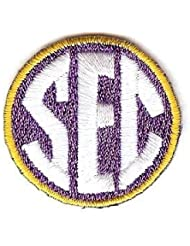 SEC Southeastern Conference Team Jersey Uniform Patch LSU Tigers by Patch Collection