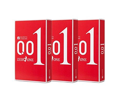 Okamoto Zero One 0.01 Mm 3pcs × 3 Boxes Gift Set Latest Japanese Condom Release 2015