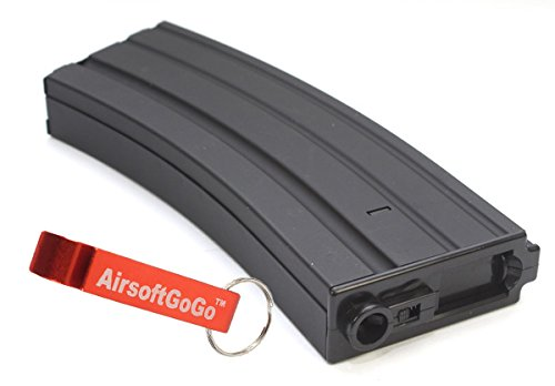 Metall Hi-Cap 450rds Magazin für Softair TAVOR TAR21 T21 ARES / S&T / Cyber gun - AirsoftGoGo Schlüsselanhänger Inklusive Cap Guns St