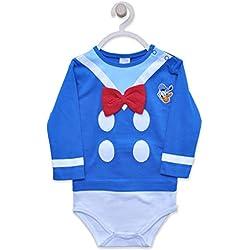 Disney Baby Boys Body Coton Doux (9 Mois (74 CM))