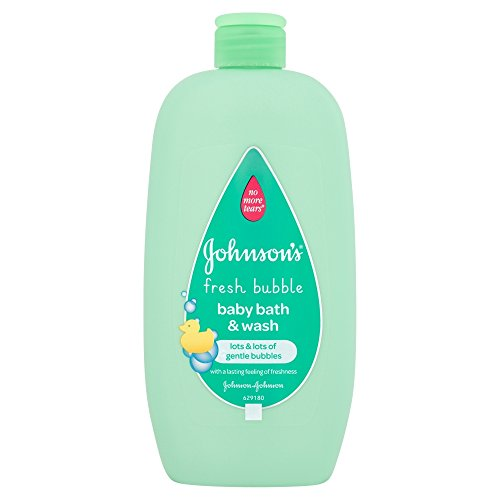Johnson's Fresh Bubble Baby Bath & Wash, 500ml