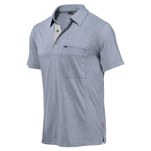 Golite Herren 's Wicklow Short Sleeve Travel Polo Shirt slate blue