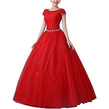 Vestido Elegante Para Boda Ceremonia De Vuelo Encaje Floral Precioso Maxi Vestido