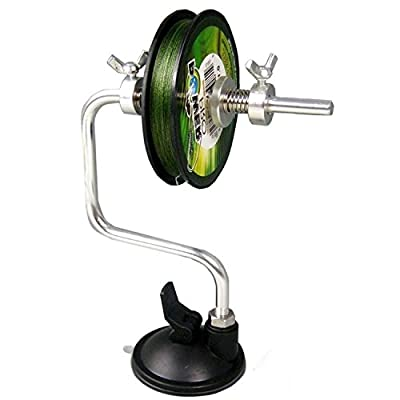 Fishing Line Spooler - By Ultimate Angling®- NOW With Advanced Suction Cup & Spool Control | Not Suitable For Jumbo Spools by Cyber Online Sales LTD