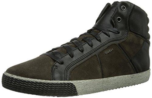 Geox U SMART Herren Hohe Sneakers Grau (MUDC6372)