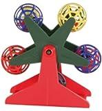 Budgie toy Bird Ferris Wheel with Balls 10cm (5355) -