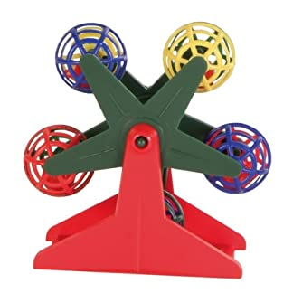 Trixie Ferris Wheel with Little Rattling Balls for Bird, 10 cm 7