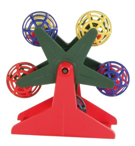 Trixie Ferris Wheel with Little Rattling Balls for Bird, 10 cm 1