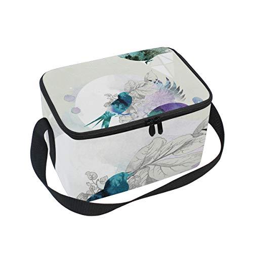 Frauen Wallpaper (Freelance-Wallpaper-Designer-London-UK-Illustrator Lunchtasche für Frauen)