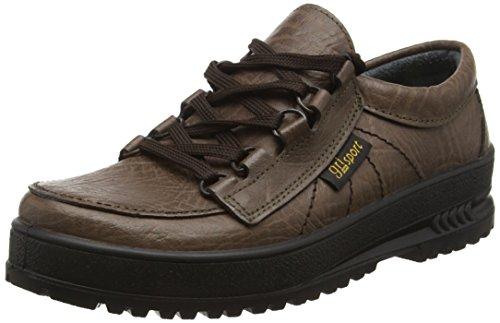 Grisport - scarpe da camminata, unisex - adulto, marrone (braun (braun)), 40
