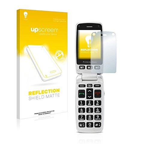 upscreen Reflection Shield Matte Bildschirmschutz Schutzfolie für Doro Primo 413 (matt - entspiegelt, hoher Kratzschutz)