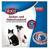 Trixie Zecken- und Flohschutzband Propoxur, Katze/kl.Hund, 35 cm, braun