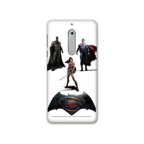 Coque Nokia 5 - N5 WB License Batman v superman - trios B, Coques iphones