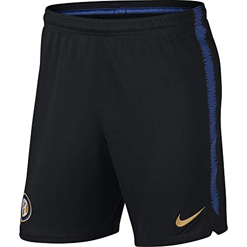 Nike Herren Inter Mailand Dry Squad Shorts, Black/Game Royal/Truly Gold, S