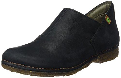 El Naturalista Damen N919 Pleasant Angkor Mokassin Boots, Schwarz (Black), 41 EU (Leder Schuhe Schwarz Damen Wohnungen)