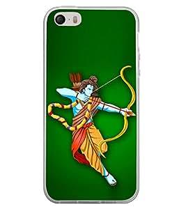 Bhagwan Ram 2D Hard Polycarbonate Designer Back Case Cover for Apple iPhone 4