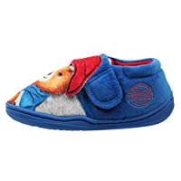 WILLIAM LAMB Paddington Bear Boys Padpinatubo Low Top Slippers Blue 9 UK Child