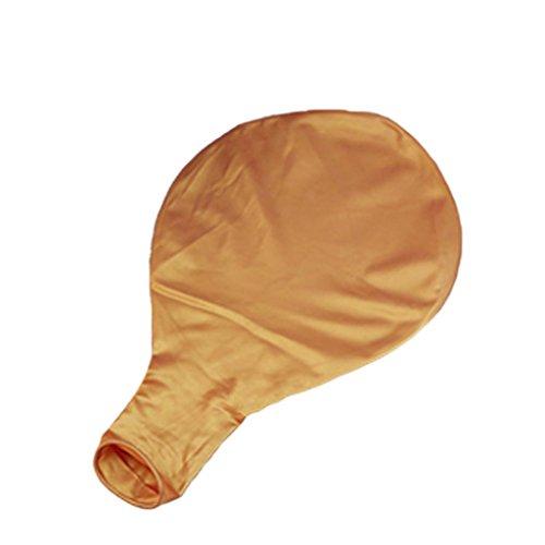91 Matt (Hearsbeauty Latex-Luftballons, Deko für Party, Geburtstag, Hochzeit, Festival, groß, 91cm goldfarben)