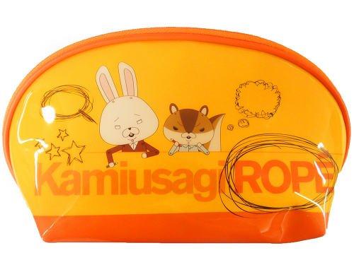 naranja-bolsa-de-la-pluma-de-lope-de-papel-del-conejo-japn-importacin