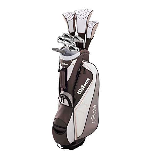 Wilson ProStaff Allure Damen Golf Komplettset Eisen 6-SW Holz Hybrid Putter Bag