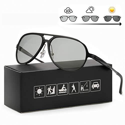 FIMILU Polarizadas Gafas Sol Fotocromaticas Hombre