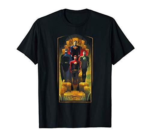 Justice League Deco T Shirt -