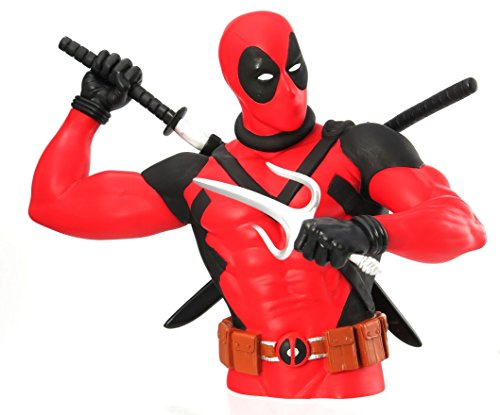 Marvel Comics 68636 Deadpool Busto Banco