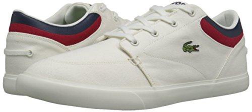 Lacoste Men's Bayliss 316 4 SPM Fashion Sneaker, White, 13 M US