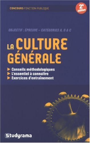 La culture générale par Jean-François Guédon, Marion Stuchlik