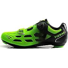 Zapatillas De Ciclismo para Hombre Bicicleta De Carretera, Zapatillas De Deporte Transpirables Unisex, Zapatillas
