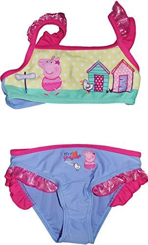 Unbekannt Peppa Pig Suzie Mädchen 2 Stück Badeanzug (Blau, 8 Jahre)