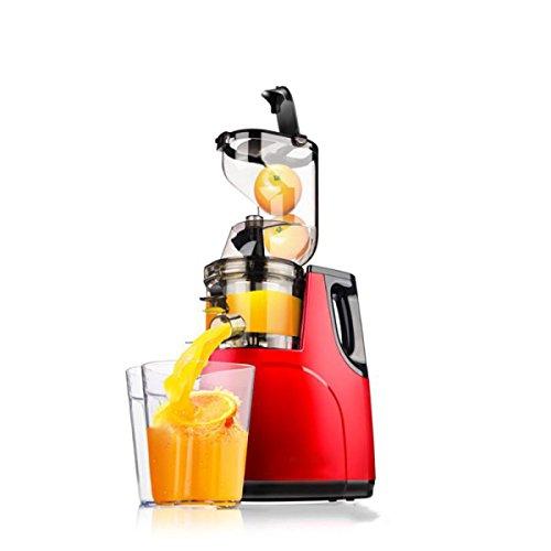 Juicer-maschine Masticating (Entsafter Von ZAIYI Groß-durchmesser Juicer Hause Multifunktions Automatische Obst Und Gemüse Frisch Gepresste Slow-bodied Saft Maschine,Red)