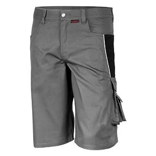 Qualitex - Shorts PRO MG 245, GRAU/SCHWARZ, 50