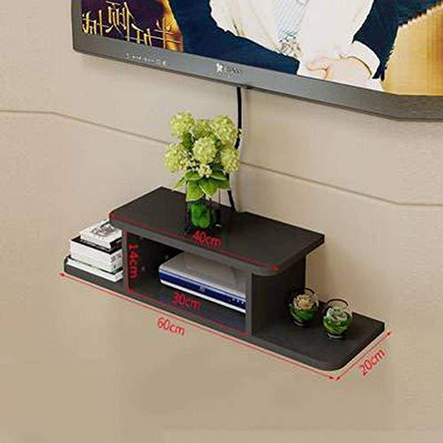 BinLZ Set-Top Box Rack Rack WiFi Montado Pared Salón
