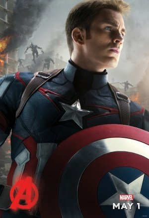 THE AVENGERS : AGE OF ULTRON – Captain America - US Imported Movie Wall Poster Print - 30CM X 43CM Brand New
