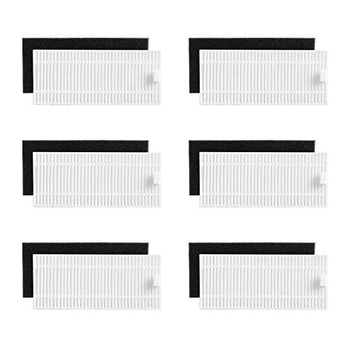 eufy RoboVac Replacement Filter Set, RoboVac 11S, RoboVac 15c, RoboVac 30, RoboVac 30c, Accessory