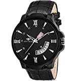 #10: Eddy Hager Black Day and Date Men's Watch EH-145-BK