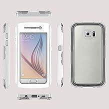 acustyle (TM)–Funda impermeable para Samsung Galaxy S6G9200S6a prueba de agua al aire libre bajo el agua 6metros caso IP-68100% bolsa de teléfono protectora