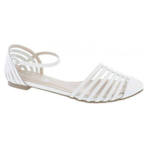Spot On Women - Buckle fasten - Sandales d'été décontractées Blanc - blanc